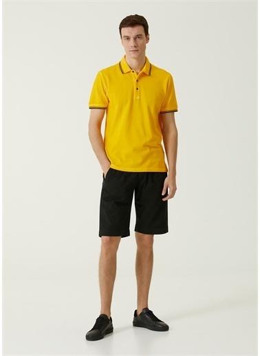 Canali Polo Yaka T-shirt Sarı